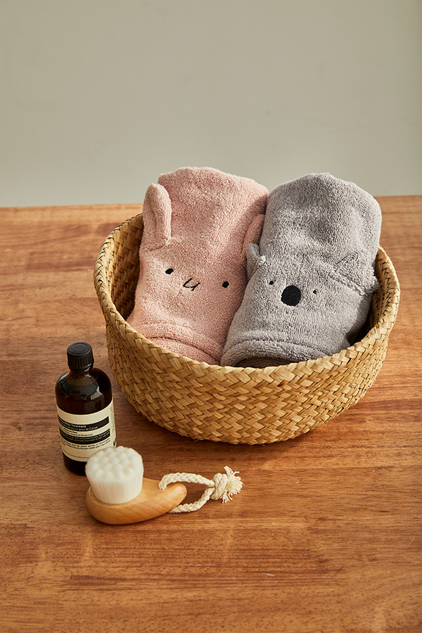 항균 페이스타올 택1_아기목욕타올/어린이집수건