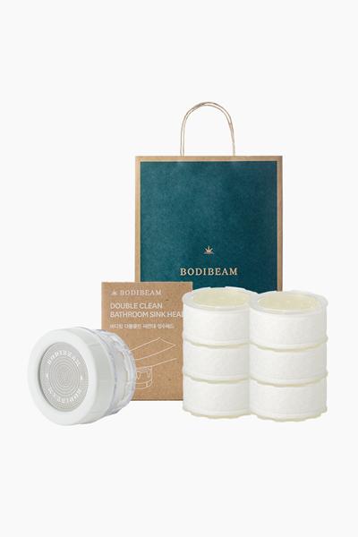 바디빔 더블클린 세면대 정수 헤드+비타리필 필터6EA