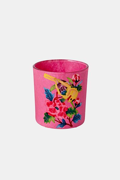 라이스 티캔들_핑크