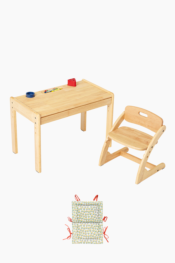 부오노 아미체 책상의자세트(+쿠션)