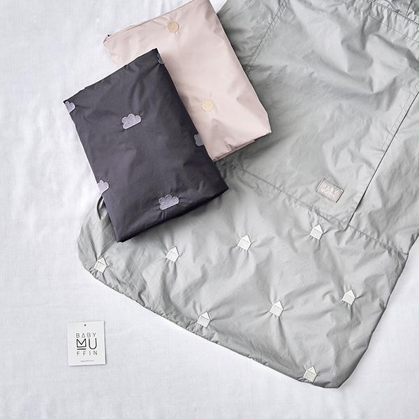 [가을외출필수템]아기띠 바람막이_100g경량+정리포켓+생활방수