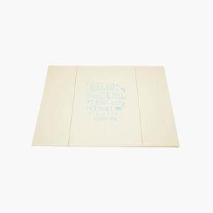 ★층간소음해결★레터링 폴더매트_크림 (140x240cm)