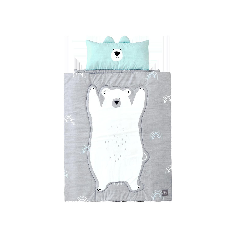 ★알러지FREE★사계절 낮잠이불 백곰 루디+전용보관백+블랑101미니어처 증정