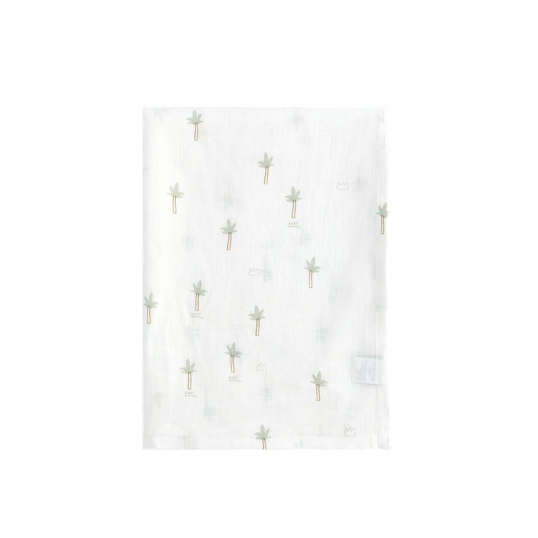 린넨 블랭킷_팜트리(100x130cm)