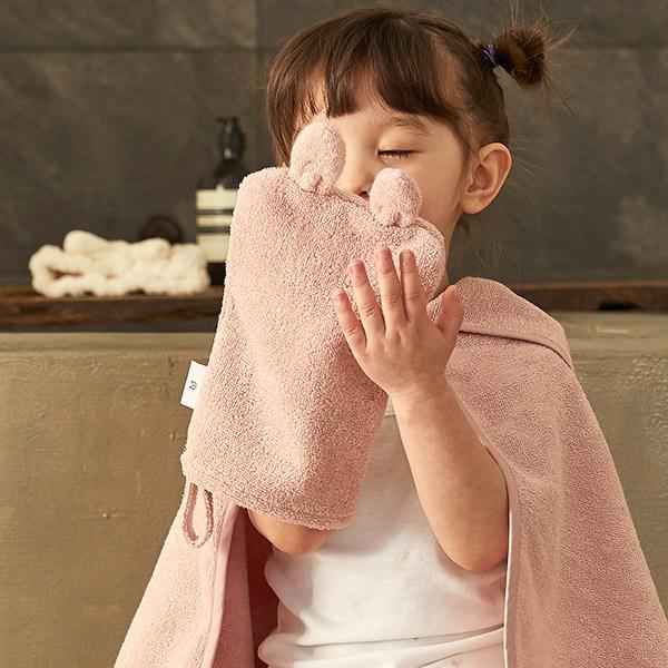 항균 타올 세트 택1_아기목욕타올/샤워가운/어린이집고리수건