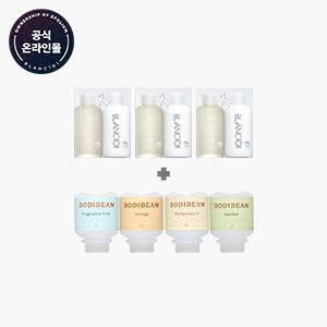 [리빙]세제유연제 미니어처세트+바디빔 여행용 비타민 샤워필터