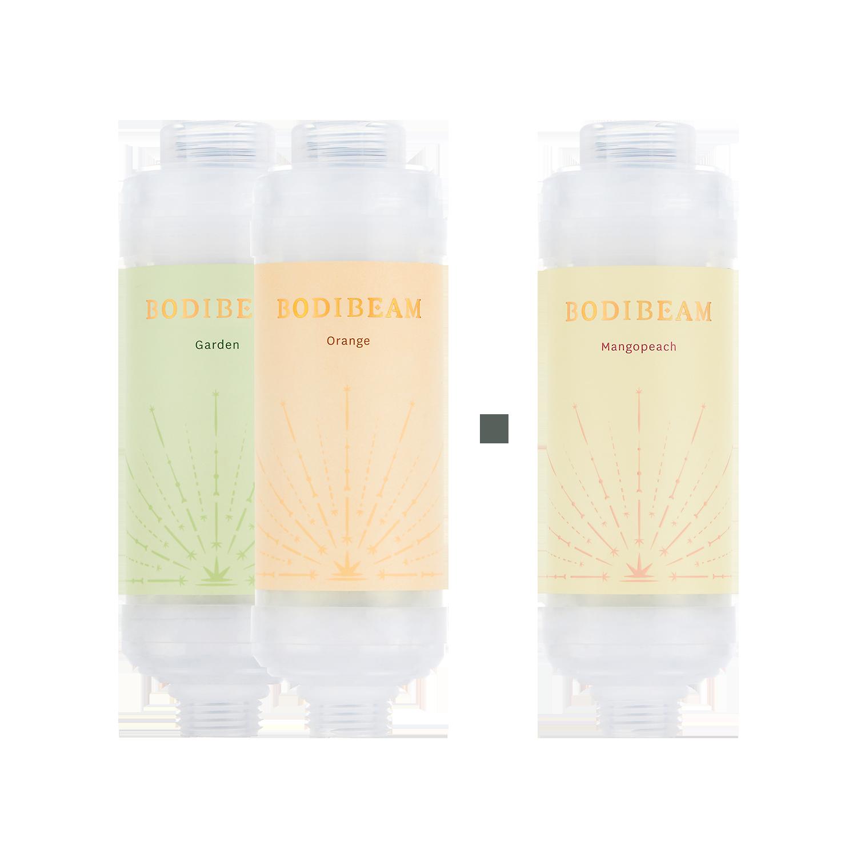 ★목욕세트2+1★바디빔 비타민 샤워필터(향선택)