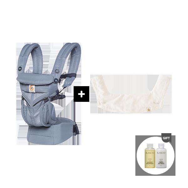 [신생아필수템]옴니360쿨에어+360침받이(+블랑101미니어처+정품카드)