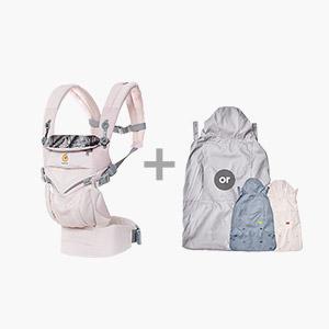 [가을준비]옴니360쿨에어_마우이+바람막이 세트(360전용침받이+정품카드 증정)