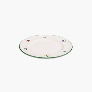 [오스트리아명품식기]알파인플라워 접시_18cm