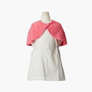 ICF유아용 목욕망토_핑크망토