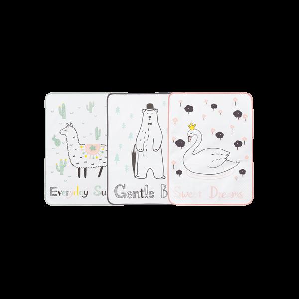 [육아꿀템]코튼방수요_디자인 선택☆완벽방수패드