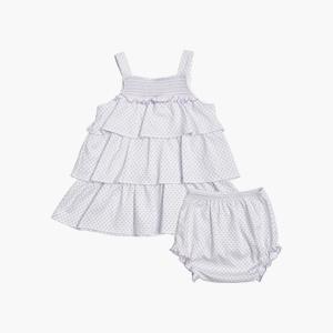 실키촉감★라일락 블룸 민소매 드레스