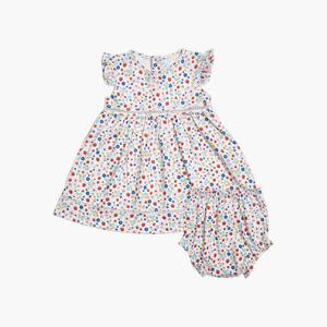 스트로베리 민소매 드레스