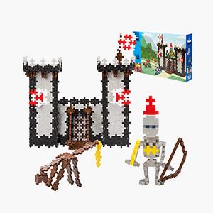 ★한정수량50%★[덴마크창의력블럭]미니베이직760_Knights castle