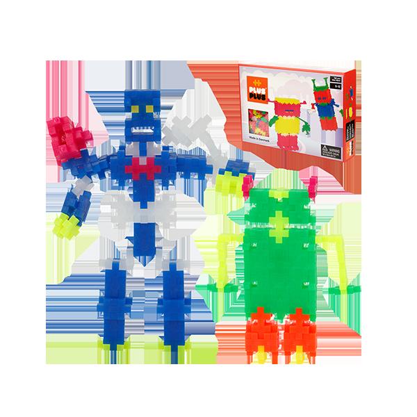 [덴마크창의력블럭]미니네온760_Robot