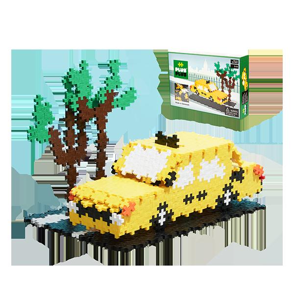 [덴마크창의력블럭]미니베이직760_Yellow taxi