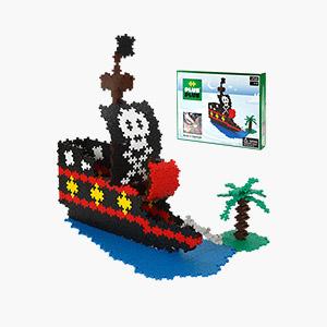 [덴마크창의력블럭]미니베이직1060pcs_Pirates Ship
