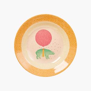 [리빙페어60%]키즈밀 볼_애니멀프린트 핑크