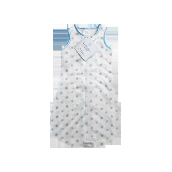 ★64%★겨울수면조끼 슬리핑백 블루코지도트 432PB