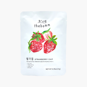 [한정특가20%]과채 건조칩_딸기
