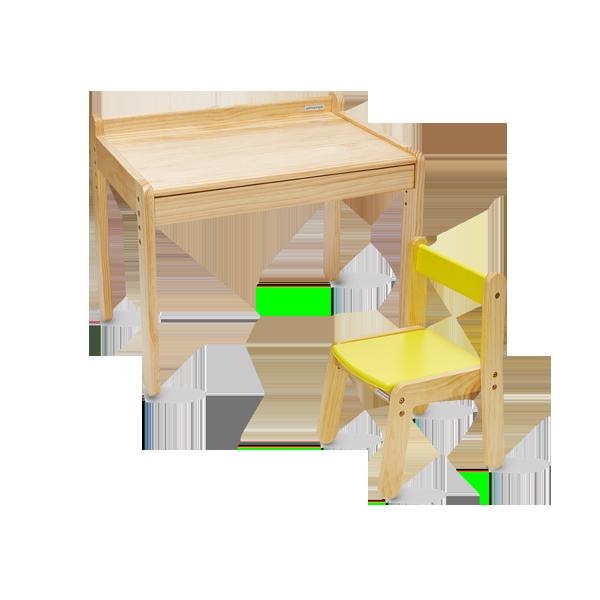노스타 1인용 원목 책상의자세트
